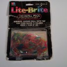 Lite Brite 240 Refill Pegs 1990s Medium Length Original Package NIB