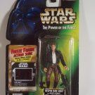 Star Wars POTF2 Han Solo Bespin Gear Freeze Frame Kenner Power of the Force Action Slide POTF