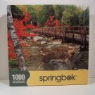 Springbok Puzzle FootBridge To Nature 1000 piece 1JIG10362 Sealed New