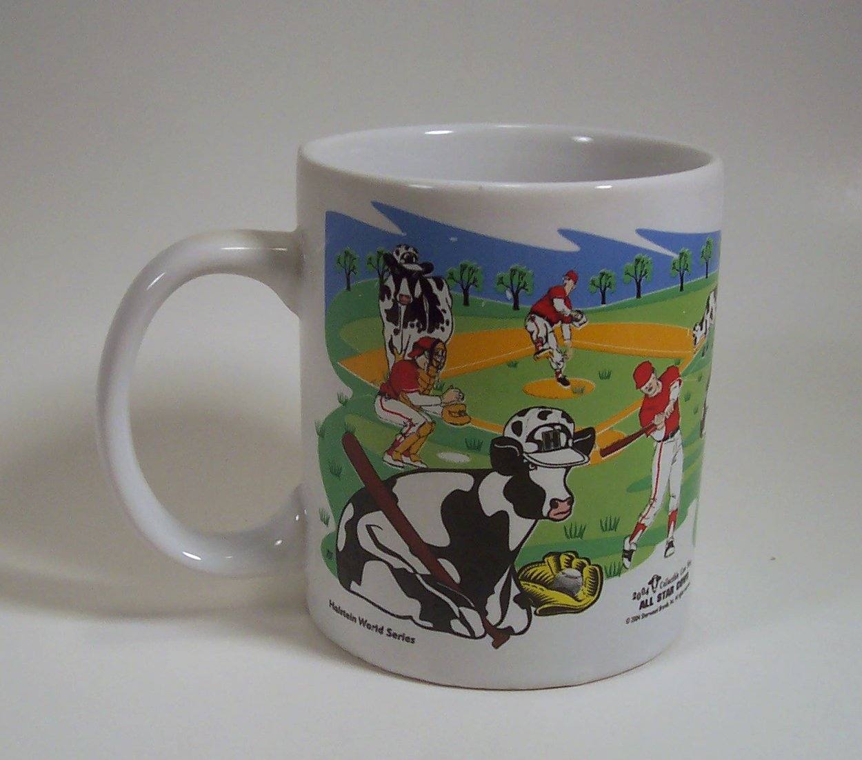 All Star Cows Holstein World Series - Pasture Super Bowl Cup Mug 2004 Sherwood Brands