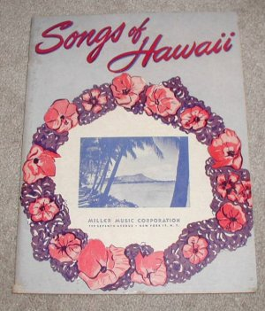 Songs Of Hawaii Songbook. [Paperback] by Multiple Authors.