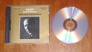 Grieg: Lyric Pieces Gieseking [Audio CD]