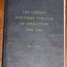 The German Northern Theater of Operations 1940-1945