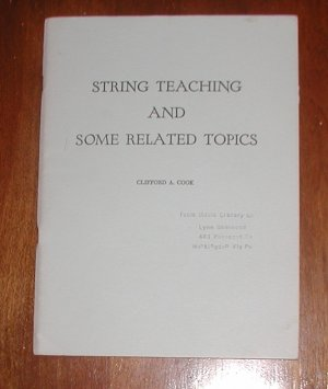 String Teaching and Some Related Topics