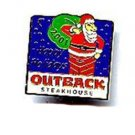 2001 Holiday Outback Steakhouse Pin Pinback
