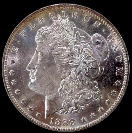 1888-O MS64 DMPL Morgan $1