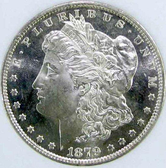 1879-S  Morgan $1 NNC MS67 DMPL