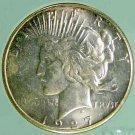 1927-S  Peace $1 NTC MS66