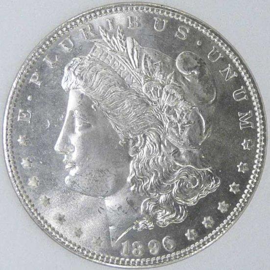 1896 MORGAN DOLLAR NNC MS67 DMPL