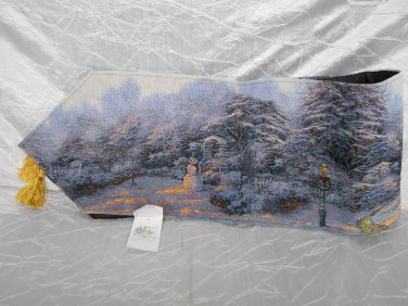 Thomas Kinkade Night Before Christmas 72-inch Table Runner