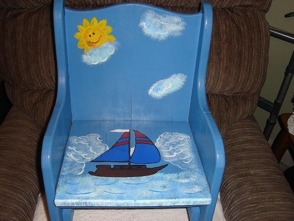 Sailboat Childrens Chair