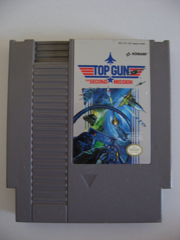 Top Gun Second Mission  -  Game Cartridge