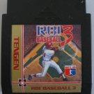 RBI Baseball 3  -  Game Cartrdige