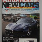 Automobile -   2012 Preview Issue