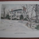 Vintage Print - Historic Weston Manor