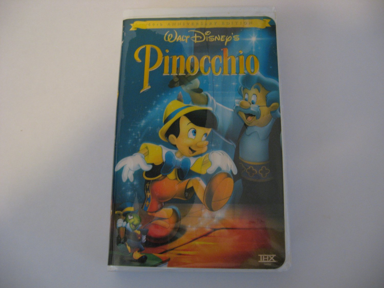 Walt Disney's Masterpiece  -  Pinocchio   (VHS)