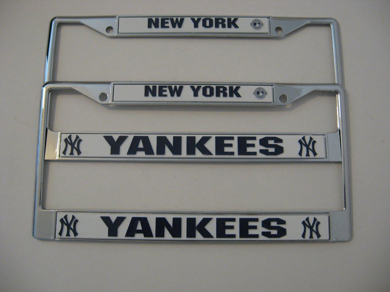 New York Yankees - Chrome License Plate