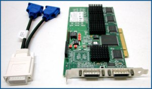 Matrox G200 Quad PCI Video Card G2+/QUADP-PL/7