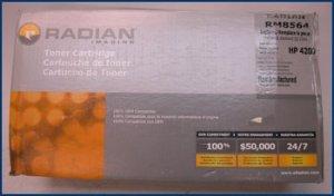 Toner Cartridge MICR Q1338A 4200 LaserJet 02-81118-001
