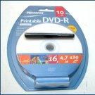 Memorex DVD-R Media 120MIN 4.7GB 10 pack 32024757 NEW