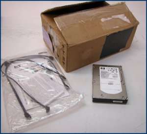 hp 146GB SAS 10000RPM Hard Drive EM173AA