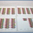 100 ADIC LTO Barcode Labels 10-1492-99