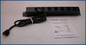 BlackBox Switchless Rack Mount Power Strip PS186A