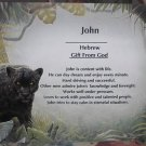 Name Poem Personalized Black Wolf Background paper Free Shipping