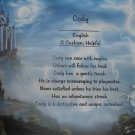 Name Poem Personalized Magic Castle Background paper Free Shipping
