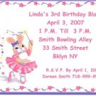 Birthday Invitations Personalized Mouse Free Shipping