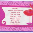 Red Hat Party Invitation Personalized Free Shipping