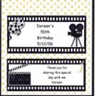 HOLLYWOOD BIRTHDAY PERSONALIZED 1.55 OZ WRAPPER FREE SHIPPING