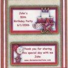 Birthday Cake Hershey 1.55 oz Personalized Free Shipping