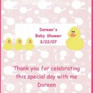 Ducks Girl Baby Shower Hershey 1.55 0z Free Shipping