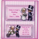 Wedding Couple Hershey 1.55 0z Free Shipping
