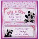 Girl Panda Hershey 1.55 0z free shipping