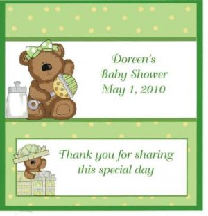 Baby Shower Candy Wrappers Free Shipping