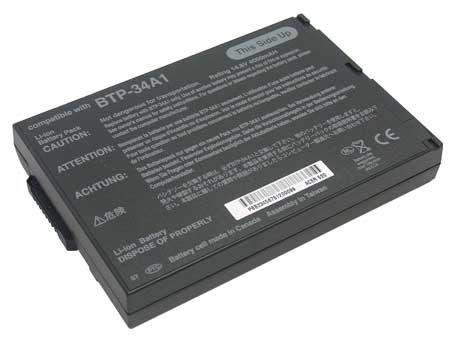 Acer TravelMate 524TE Laptop Battery 3600mAh