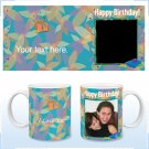 11oz White Ceramic Mug - Birthday