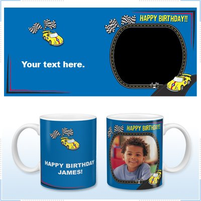 11oz White Ceramic Mug - Birthday Boy