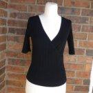WHITE HOUSE BLACK MARKET Women Wrap Top Size S Rayon /Nylon