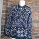 TALBOTS Women Holiday Pullover Clasp Sweater Size Small S