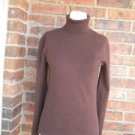 LILLY PULITZER Women Turtleneck Logo Sweater Top Size XS Cotton Blend