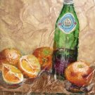 Pelegrino & Blood Oranges