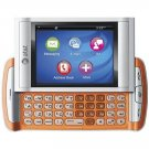 QuickFire GTX750R Orange, Unlocked Cell Phone, Touch Screen, QWERTY Keyboard, GPS Navigation