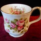 Royal Albert Bone China Tea Cup Flower Of the Month Series June