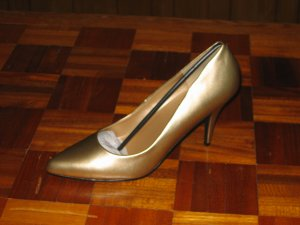 Classic Gold Pumps by Pleaser - Brand New in Box - 16