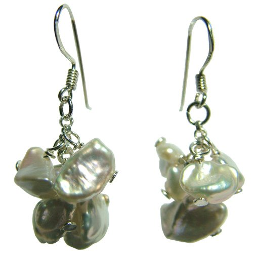 DJE139 Keshi Pearl Earrings