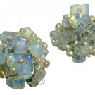 Moonstone Clip-on  Earrings
