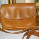 4.	AUTHENTIC COACH BROWN LEATHER WOMEN&#39;S BAG HANDBAG PURSE